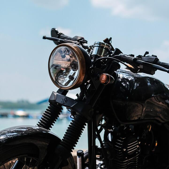 rent a motorbike Tenerife model show